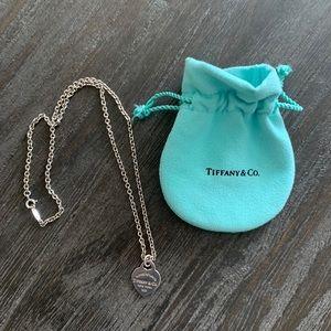 Tiffany heart pendant